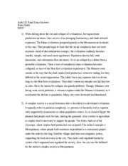 Anth 151 Final Essay Answers