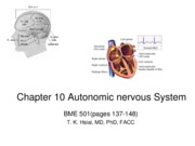 Chapter 10 - Autonomic Nervous System (Updated)