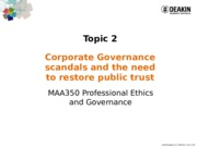 MAA350-2015T2LectureNotesTopic+2+Corp++Scandals