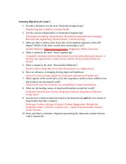 Bioen_1020_Exam1_Learning_Objectives_2016 (Autosaved)