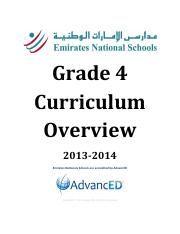 G4-Curriculum-Overview