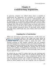 Chapter 6 - Constructing Arguments.doc
