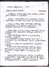 ENGL Types of Short Fiction (The Outsider)