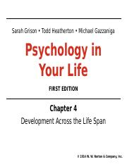 PSYLIFE_Student PPT_Ch4_Fall 2016.ppt