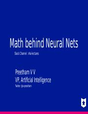 001_Math behind Neural Networks.pptx