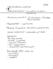 BBG E101 NOTES MACRO & MICRO ECONOMICS