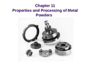 POWDER METALLURGY MY LECTURE  only  Numericals (3)