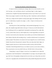 college essay- template