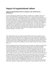 Impact of organizational culture.docx