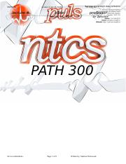 PATH 300 - NTC - Lecture 3 January 19.doc
