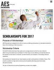 Scholarships - AES Engineering.pdf