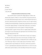 Concepts of the Self Othello Essay