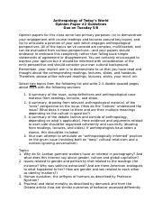 Opinion Paper #2 Guidelines and Topics.docx