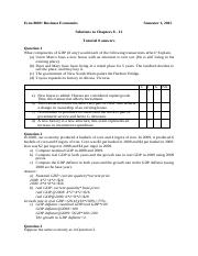 Tutorials 8 - 12 Solutions