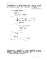 Solutions (Thermodynamics processes)