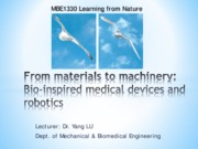 GE1330 Guest Lecture 02-Bioinspired machinery