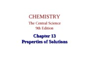 chapter 13 Properties of Solution