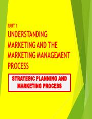 Strategic Planning & Marketing Process + The Marketing Environment.pdf