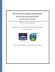 274Research Supervisor Support  Development Report - U21 Project .pdf