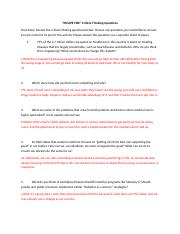 ESCAPE FIRE Critical Thinking Questions (1).docx