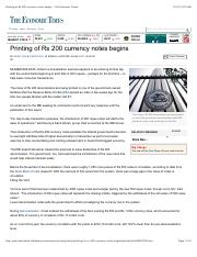 07.Printing of Rs 200 currency notes begins - The Economic Times.pdf
