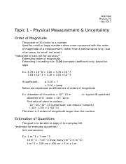 Physical Measurement and Uncertainty.docx