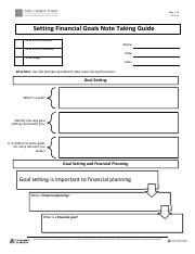 Setting Financial Goals Note Taking Guide.pdf