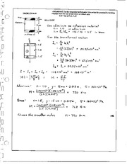 323_Mechanics Homework Mechanics of Materials Solution