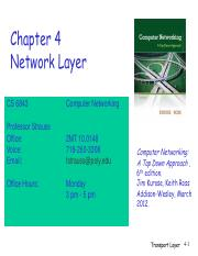 Chapter4-NetworkLayer