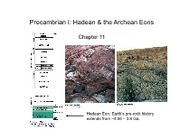 Geology Exam #2 - Precambrian I