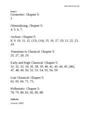 201 - Blank Study Guide for Exam #2