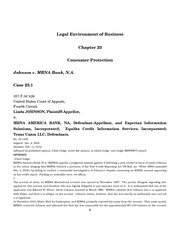 LEB Briefing Cases.Ch.23
