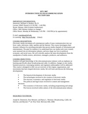 RTV 3007 Fall 2013 syllabus