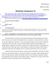Marketing Assignment 10.docx