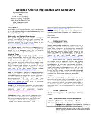 CASE 1-Advance America Implements Grid Computing.doc