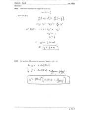 Math 121 Test 3 Version 2 Solutions