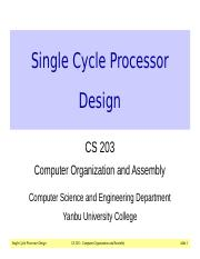 08-SingleCycleProcessor.ppt