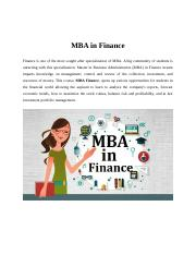 MBA in Finance.docx