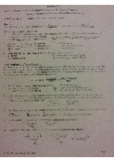 Physics notes Acceleration