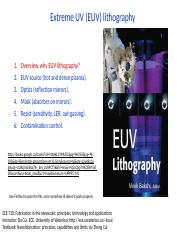 6 Extreme UV lithography.pptx