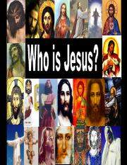 BBST 110 - 2 Who is Jesus Title Claim Action F12