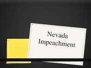 Nevada Impeachment Process