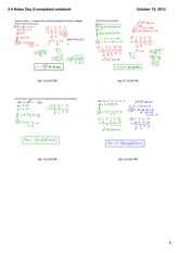 complex zeros and the fundamental theorem notes