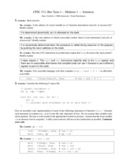 cs313-2006-t1-midterm1-solution