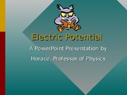 Lecture 3-Electric Potential ppt