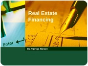 Class 9 A Real Estate Financing