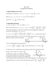 Phys 2214 hw5 Solutions