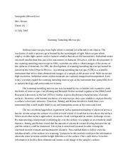 scanning tunneling microscope essay.docx