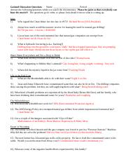 GASLAND - Gasland Answer the following questions while you ...