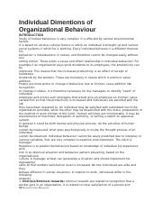 Individual Dimentions of individual behaviour.docx
